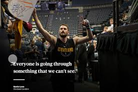 kevin love mental health